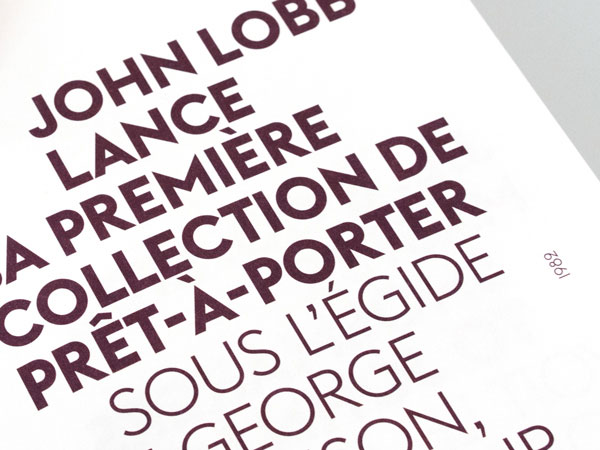 Bontron Graphisme Genève John Lobb Brochure