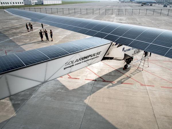 Bontron Graphisme Genève Solarimpulse Avion