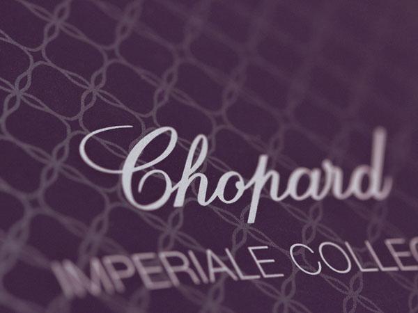 Bontron Graphisme Genève Chopard Imperiale