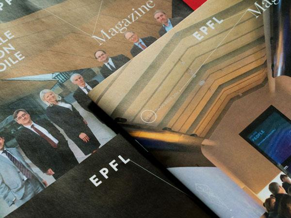 Bontron Graphisme Genève EPFL Magazine